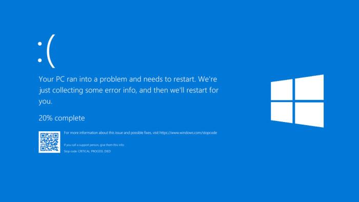 fix blue screen of death on windows 10