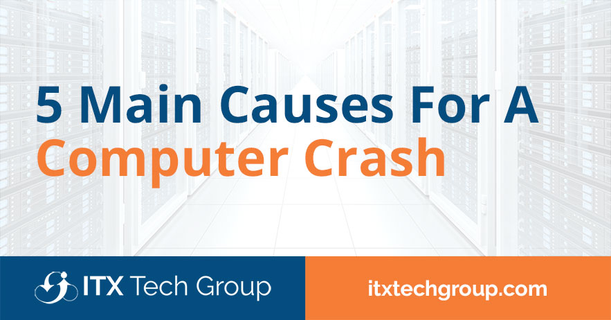 main causes for computer crash